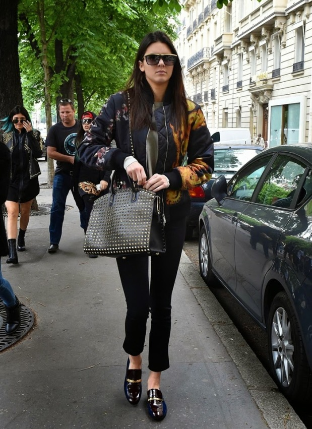 KENDALL JENNER givenchy jacket valentino bag fashion style 2015 street los angeles KENDALL JENNER