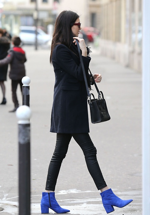 Kendall Jenner Doing Some Sightseeing In Paris