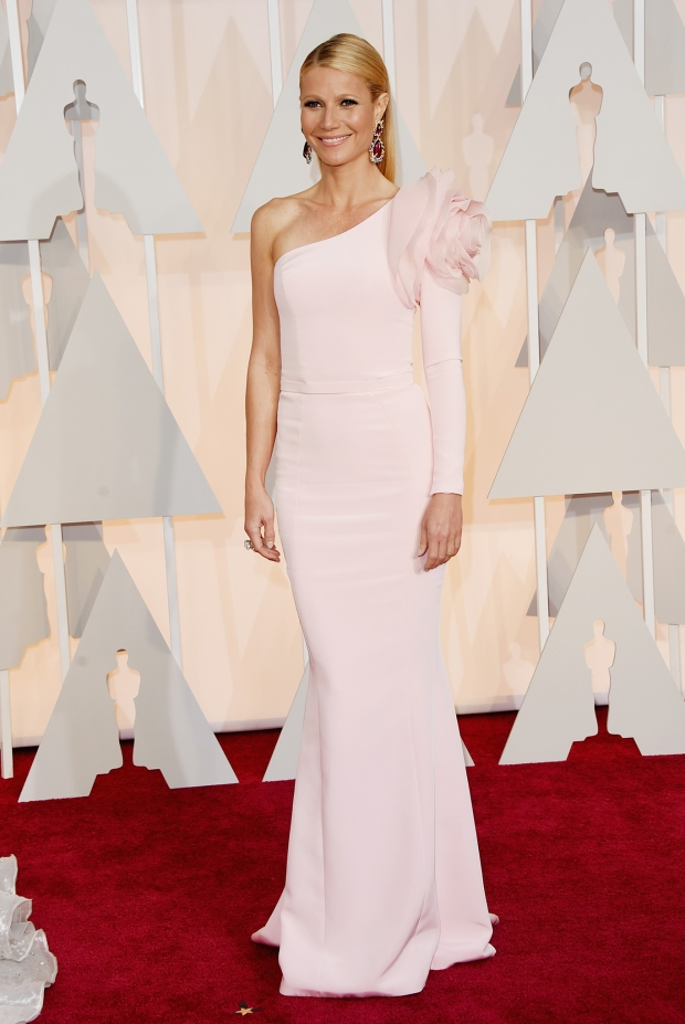 Gwyneth Paltrow, in Ralph & Russo, with Anna Hu Haute Joaillerie jewels